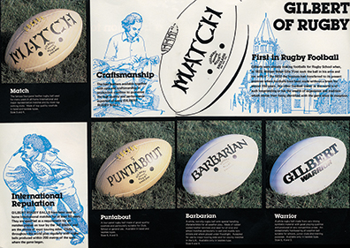 gilbert rugby history rugby s original brand